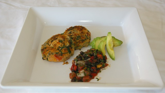 Pan Seared Quinoa Cakes with Black Bean and Tomato Salsa (Vegan) | Eat ...