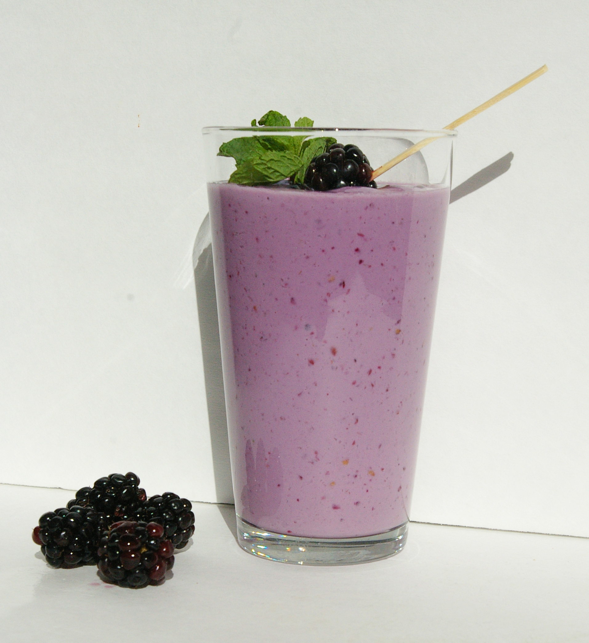 Greek Yogurt Blackberry Smoothie | Eat. Learn. Live. A mantra for a ...