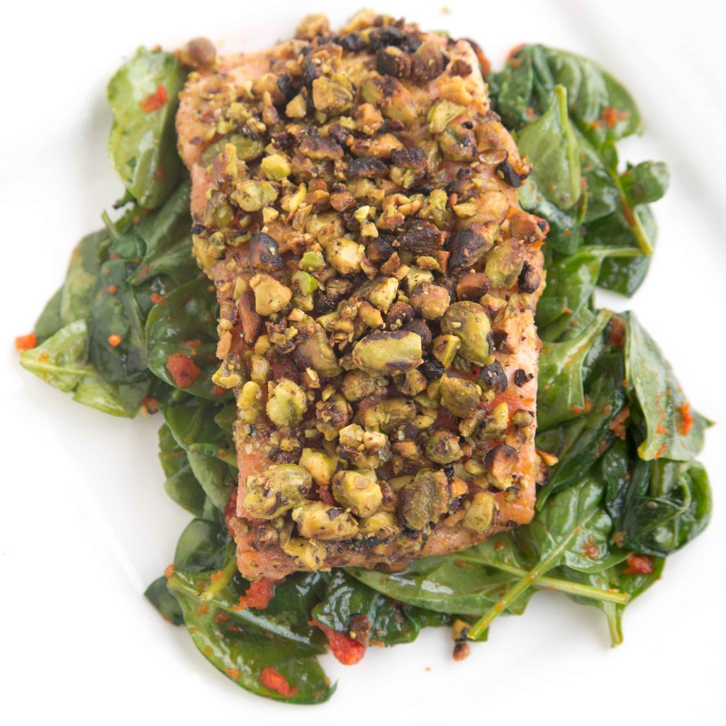 Pistachio Crusted Salmon | Eat. Learn. Live. A mantra for a better ...